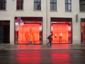 Hugo Boss Schaufenster